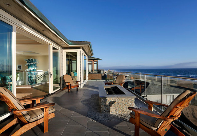 Beach House Modern Craftsman For Coastal Patio