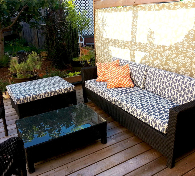 Beach House Patio Furniture Cushions Beach Style Patio philadelphia b