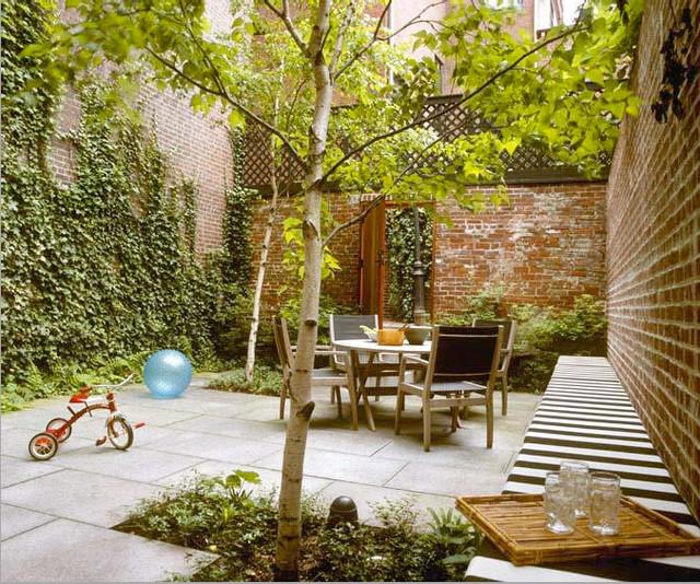 Walled garden beacon hill boston for Small walled garden design
