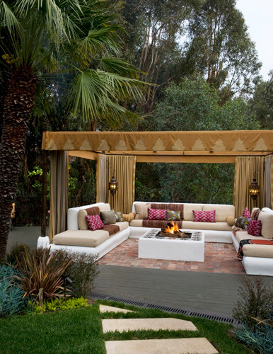 Beautiful spaces with colors you can bring home with Garden Candy contemporary-patio