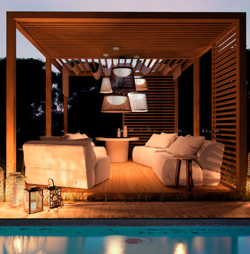 Modern Patio by Los Angeles Lighting Maxim Lighting International
