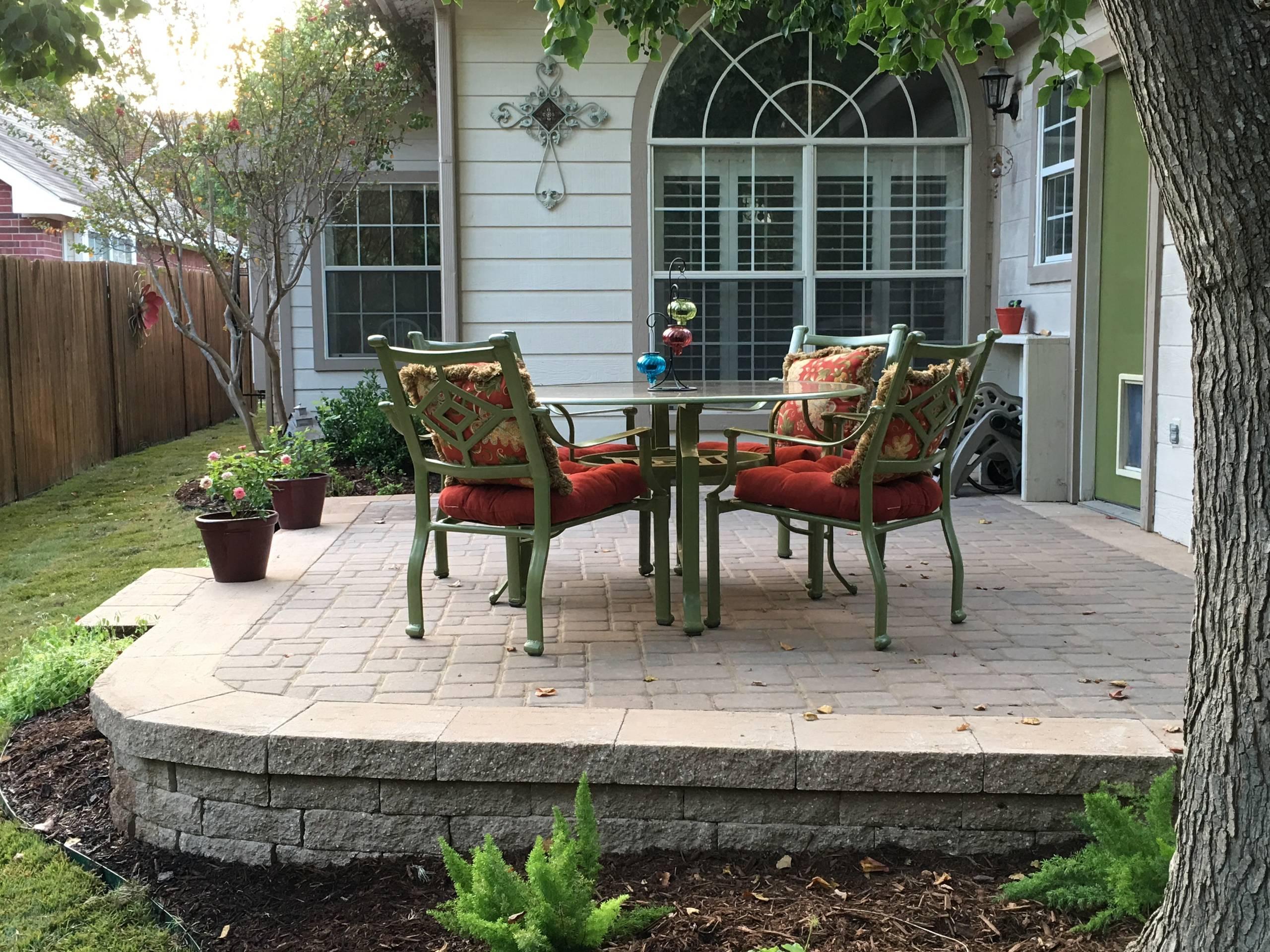 Belgard patio
