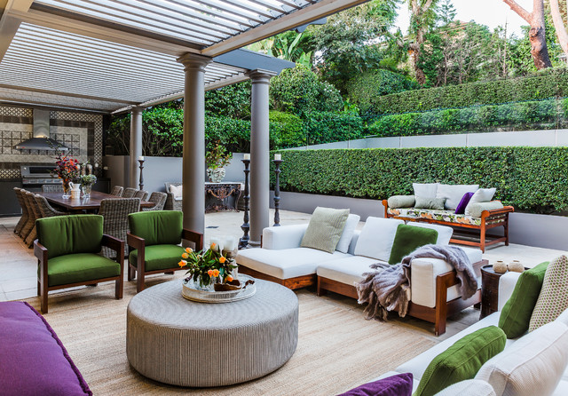 Bellevue Hill Traditional Patio Sydney by Marylou Sobel