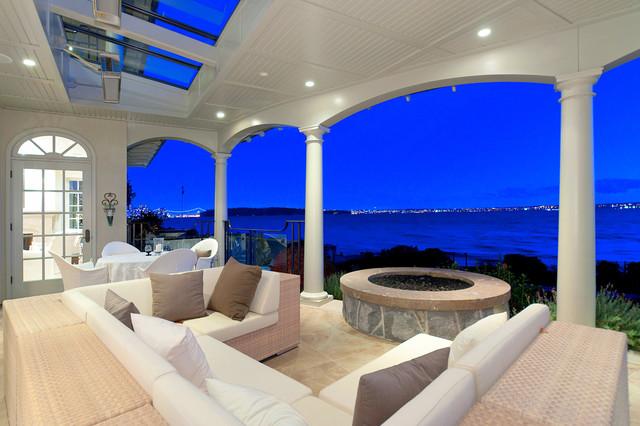 Bellevue House contemporary-patio