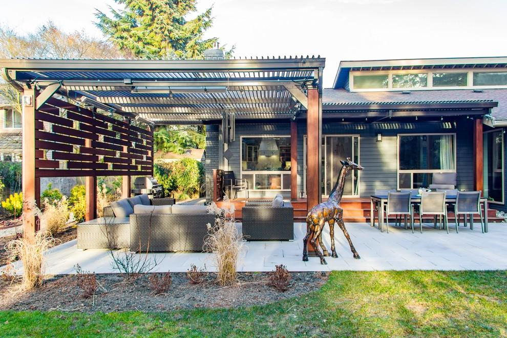 Bellevue Modern Outdoor Living - Modern - Patio - Seattle ... on Urban Living Outdoor id=87160