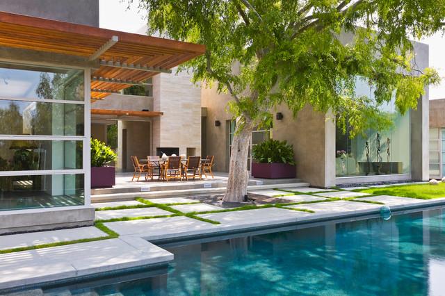 Bentley Residence contemporary-patio
