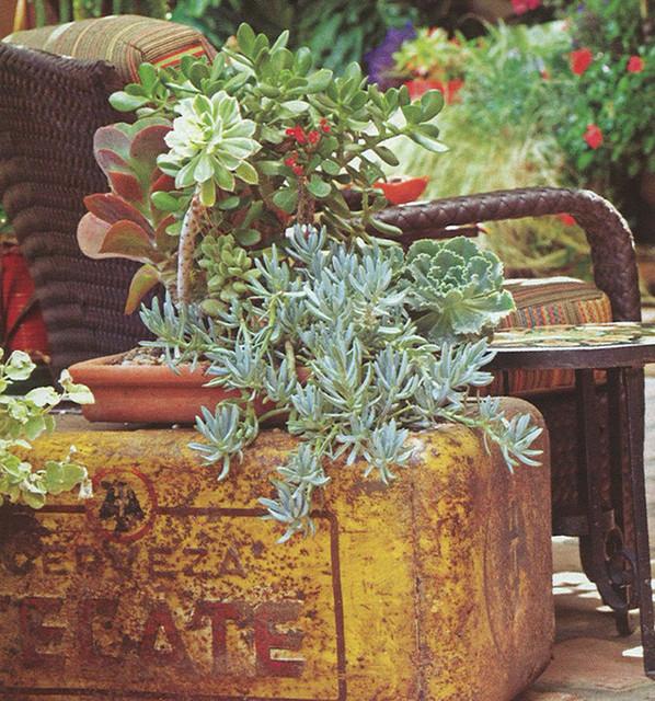 beverly hills peck - mediterranean-patio