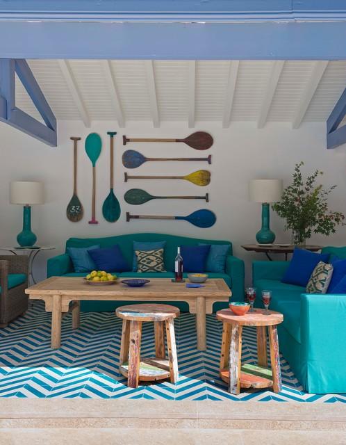 biarritz bord de mer terrasse et patio madrid par. Black Bedroom Furniture Sets. Home Design Ideas