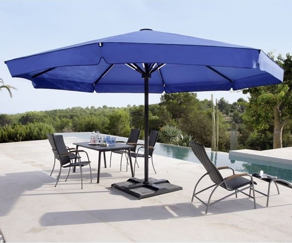 Big Ben Round Patio Umbrella Modern Patio