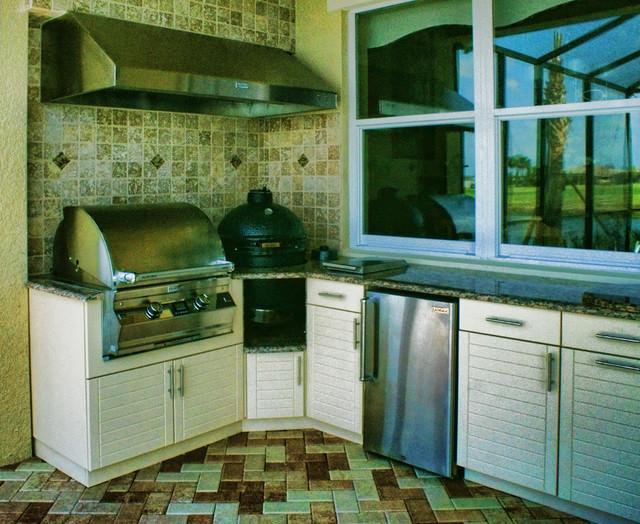 Big Green Egg Kitchen Modern Patio Other By Outdoor Kitchen Design Center