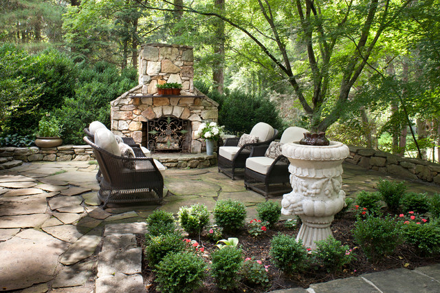 Biltmore Forest home traditional-patio