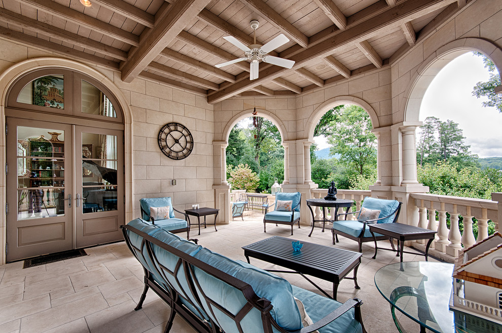 Patio - traditional patio idea in Other