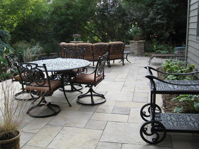 Bloomington backyard patio traditional-patio