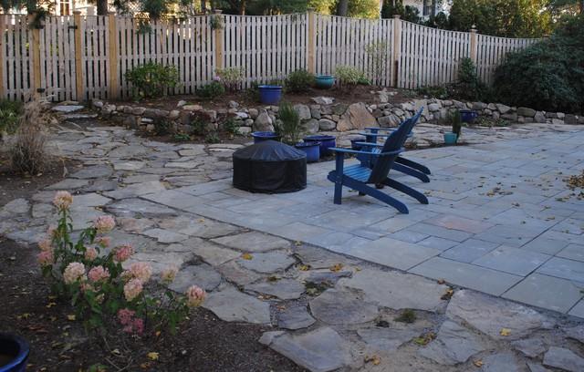 Bluestone Field Sone Patio Garden Contemporary Patio