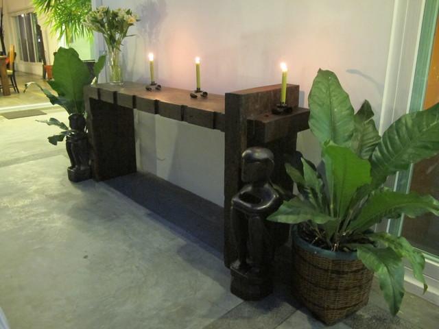 Bonoan Lanai / Patio eclectic-patio