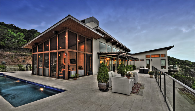 Bookhouse Residence contemporary-patio