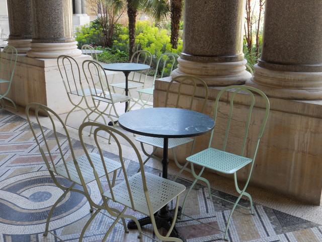 Borrow Garden Ideas From Springtime in Paris traditional-patio