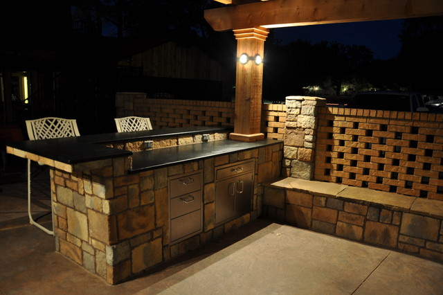Bostick Residence traditional-patio