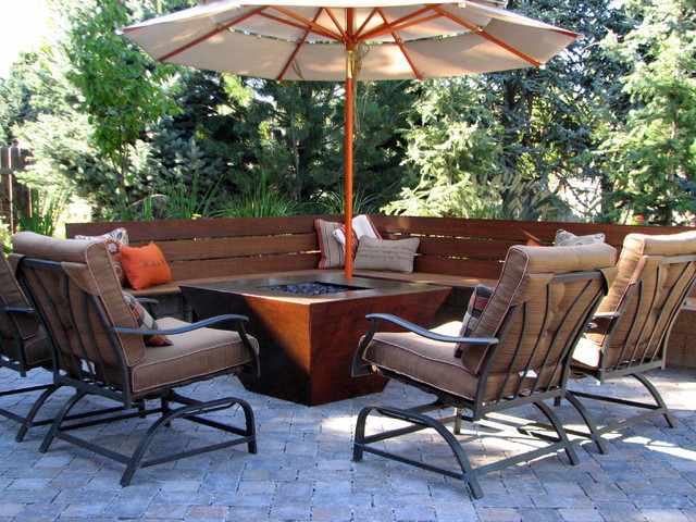 Boulder Creek Residence contemporary-patio