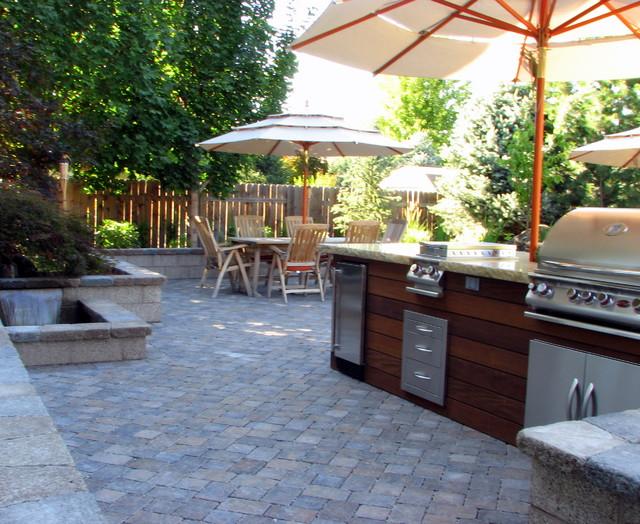 Boulder Creek Residence contemporary-patio