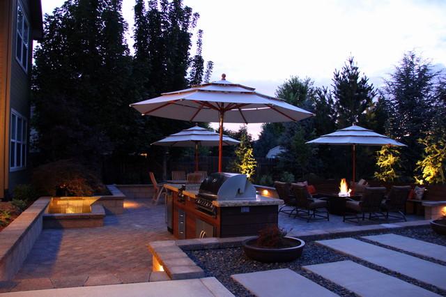 Boulder Creek Residence modern-patio