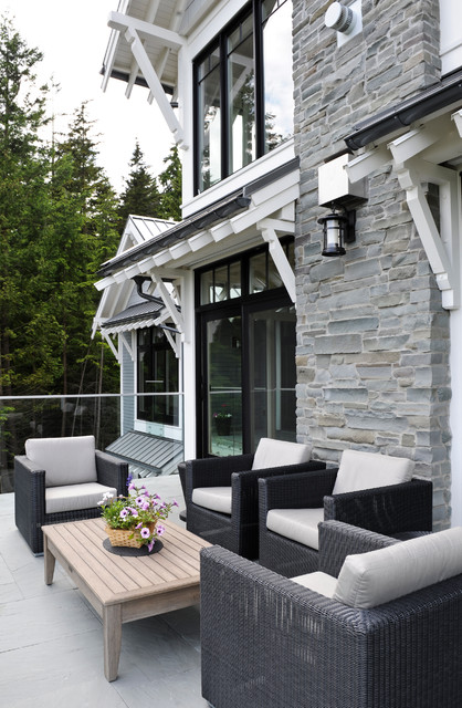 Bowen House 1 Transitional Patio Vancouver By Eyco