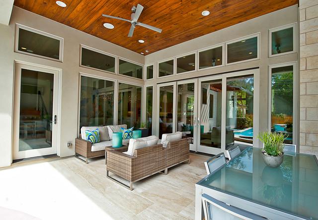 Bowman contemporary patio