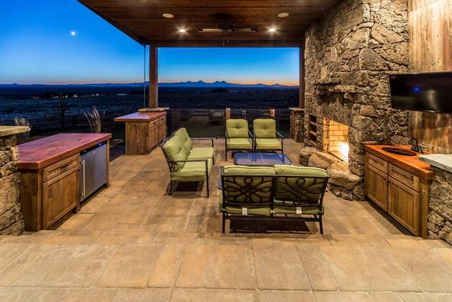 Brasada Ranch Rejuvination Rustic Patio Portland