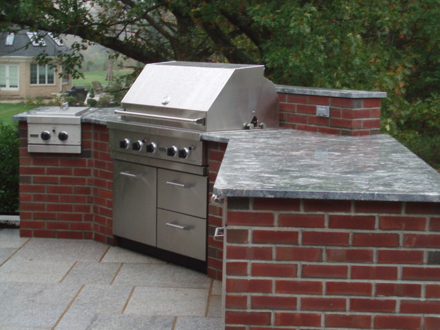 Brick Extension Traditional Patio Bridgeport By The Outdoor Kitchen Design Store