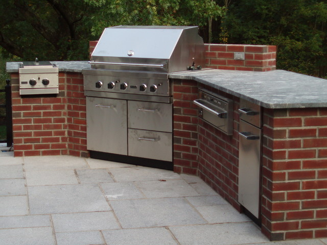 Brick Extension Traditional Other Metro By The Outdoor Kitchen Design Store