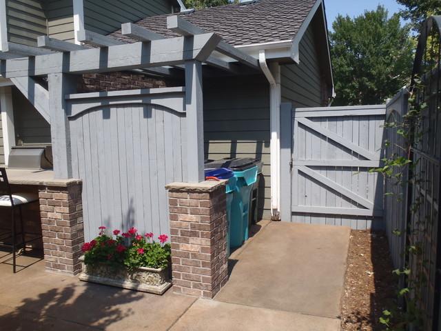 Brick Patio Pergola Fort Collins Co Modern Patio