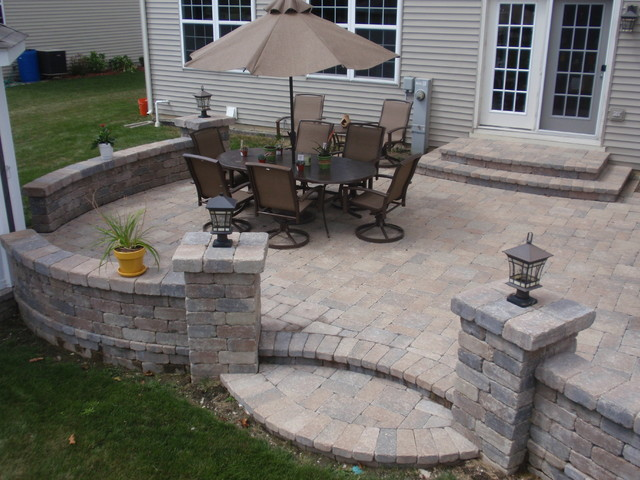 Brick Pavers On Unibase System Lifetime Warranty