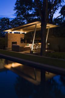 bridlepath cabana modern pool