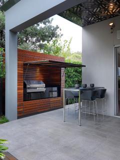 Brighton Home - Contemporary - Patio - Melbourne
