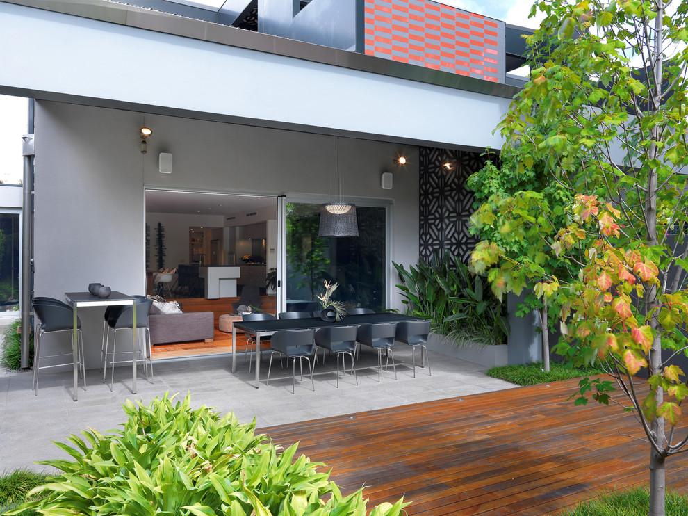 阳台地砖现代风格装修设计图片