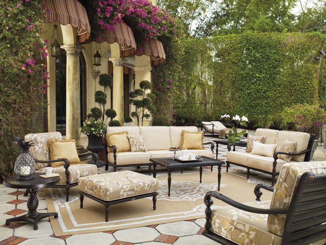 British Colonial - traditional - patio - by FRONTGATE