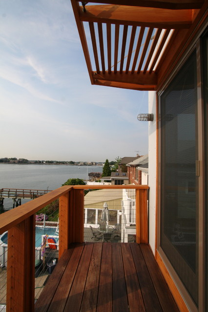 Bronx Box - deck - Modern - Patio - Other - by Resolution: 4 Architecture