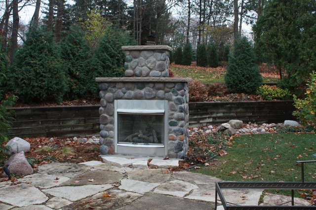 Brookfield Project traditional-patio
