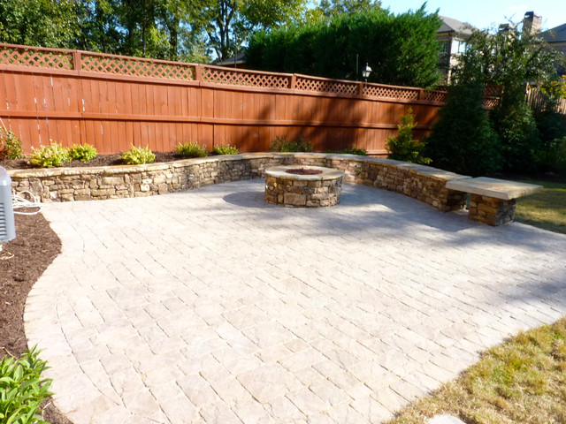 Brookhaven Makeover traditional-patio
