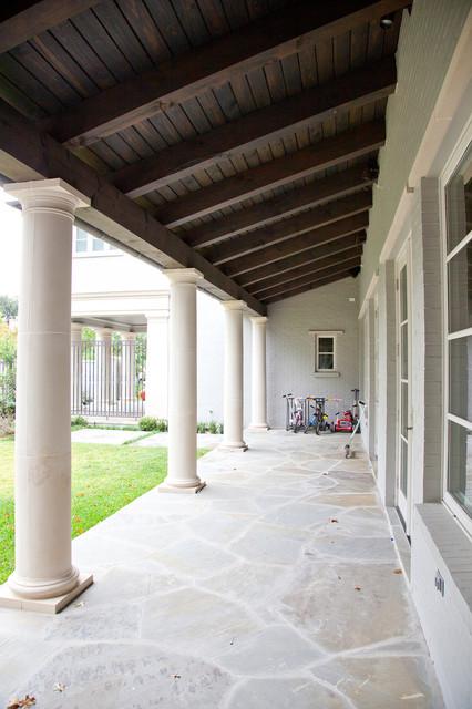 Bryn Mawr – Custom Home University Park traditional-patio