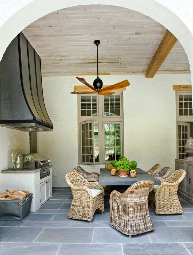 Patio - mediterranean patio idea in Atlanta