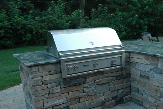 Built In Barbecue Traditional Patio New York By Best Hot