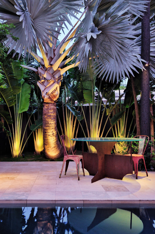 contemporary patio Outdoor Lighting