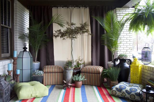 Bungalow Landscape re-do contemporary-patio