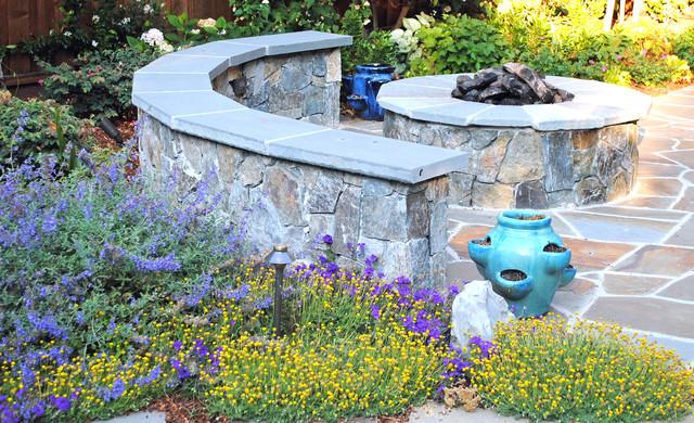 Burlingame backyard vegetable garden traditional patio for Garden design by kristen
