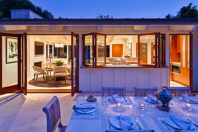 Butterfly beach villa midcentury patio santa barbara for Luxe decor llp