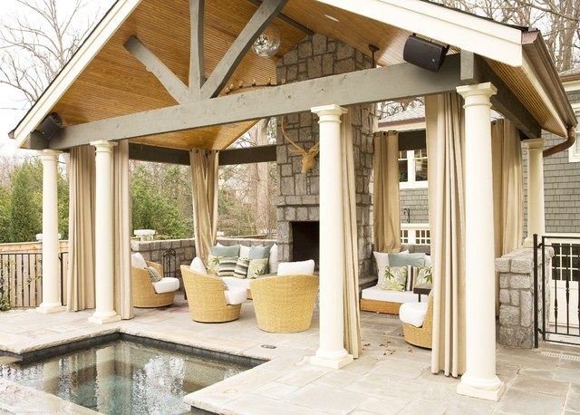 contemporary patio by Brian Watford ID