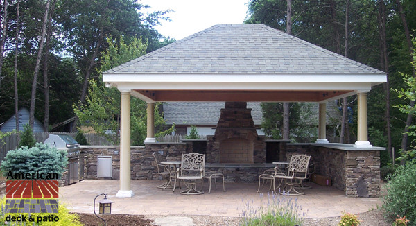Elegant Cabana Outdoor Living Patio Other By American Deck And