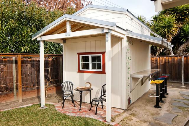 California Backyard and Patio traditional-patio