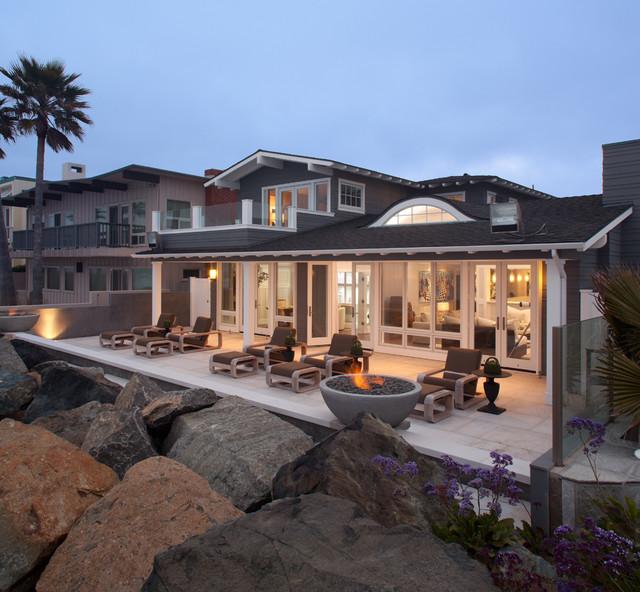 California Coastal Cottage Bokal Sneed Architecture